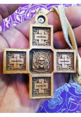 Крест деревянный нательный