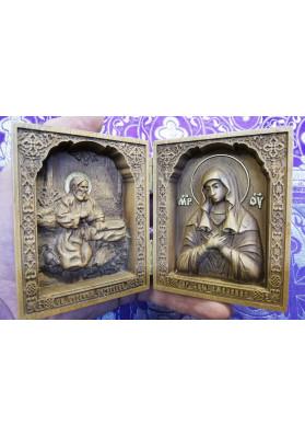 Икона Умиление и Серафим Саровский