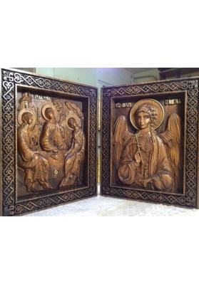 Святая Троица и Ангел Хранитель